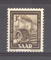 Sarre  :  Yv  284  ** - 1947-56 Occupation Alliée