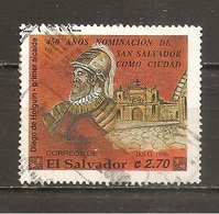 El Salvador  Yvert  1271  (usado) (o) - El Salvador