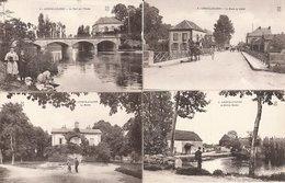 LONGVIC AVIATION Lot De 4 Cartes - France