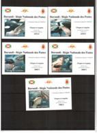 Burundi, 2012. [bc12103] Marine Fauna, Sharks (lux-blocks, Per+imperf) - Vita Acquatica