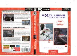 "PC07 : Jeu PC ""Rainbow Six - Roque Spear"" + ""Mission Pack"" - PC-Games"