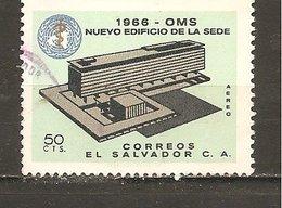 El Salvador  Yvert  Aéreo 210  (usado) (o) - El Salvador