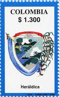 Lote 2397, Colombia, 2006, Depto Valle Del Cauca, Heraldica, Coat Of Arms - Colombia