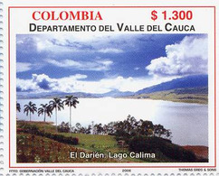 Lote 2399, Colombia, 2006, Depto Valle Del Cauca, El Darien. Lago Calima, Lake, Tree - Colombia