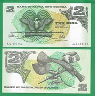 PAPUA - NEW GUINEA - 2 KINA - 1981 - UNC - Papoea-Nieuw-Guinea