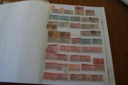 Très Joli Ensemble Et Très Varié , 7 Pages De Timbres Fiscaux - Revenue Stamps