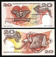 PAPUA - NEW GUINEA - 20 KINA - 1981 - UNC - Papua Nuova Guinea