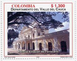 Lote 2402, Colombia, 2006, Depto Valle Del Cauca, Estacion Del Ferrocarril, Railway Station - Colombia