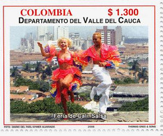 Lote 2404, Colombia, 2006, Depto Valle Del Cauca, Salsa, Dance, Woman - Colombia