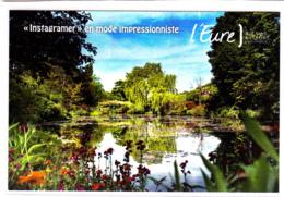 CP 27 Eure Giverny, Maison Et Jardin De Monet, Musée Des Impressionnisme, Tour De France 2018, L'Eureuse Traversée - France