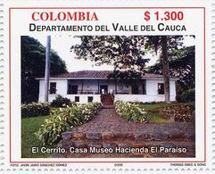 Lote 2405, Colombia, 2006, Depto Valle Del Cauca, El Cerrito, Jorge Isaacs, Museum - Colombia