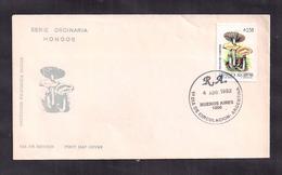 Argentina - 1992 - FDC - Champignons - Mushrooms - Psilocybe Cubensis - FDC