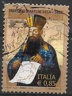 ITALIA  2014 MARTINO MARTINI SASS. 3459 USATO VF - 2011-...: Usati