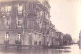 Carte Photo : Charleville  (08)  L'Inondation De 1910 - Charleville
