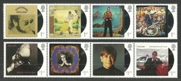 GROSSBRITANNIEN GRANDE BRETAGNE GB 2019 ELTON JOHN MUSIC GIANT SET 8V. MNH SG 4237-44 MI 4343-50 - Unused Stamps