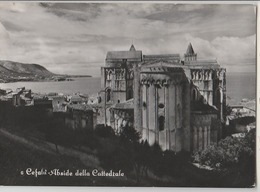 CEFALU' PALERMO ABSIDE DELLA CATTEDRALE PANORAMA F/G VIAGGIATA 1955 - Altre Città
