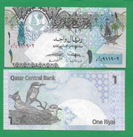 QATAR - 1 RIAL - 2008 - UNC - Qatar