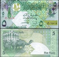 QATAR - 5 RIAL - 2008 - UNC - Qatar
