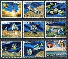 Paraguay, 1970, Space, Moon Landing, MNH, Michel 2005-2013 - Paraguay