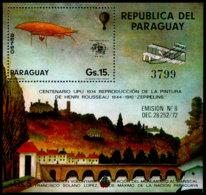 Paraguay, 1974, UPU Centenary, Zeppelin, United Nations, MNH, Michel Block 228 - Paraguay