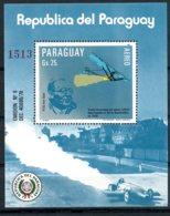 Paraguay, 1983, Space, German Rocket Science, MNH, Michel Block 284 - Paraguay