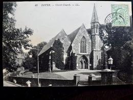 CARTE POSTALE _ CPA VINTAGE : ROYAUME UNI _ DOVER _ Christ Church _ 1911   // CPA.VIDAL.L5.10 - Dover