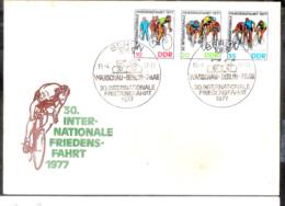 1256  Cycling - RDA 1977 - FDC - Sb15 - 1,75 - Cyclisme