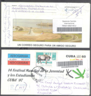 660  Aerogramme - Phares - 1997 - Used - Cb - Sb10 - 1,50  J1 - Phares