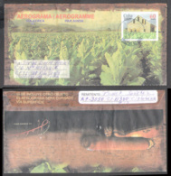 665  Tobacco - Aerogramme - Used - Cb - Sb10 - 1,75  J1 - Tabac