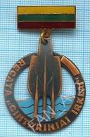 Lithuania / Badge / Sailing Regatta. Yachting. - Zeilen