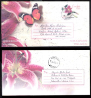 783  Aerogramme - Butterflies - Papillons - Used - Cb - Sb10 - 1,75  J1 - Papillons