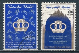 °°° MAROC - Y&T N°950/51 - 1983 °°° - Marokko (1956-...)