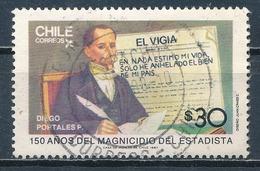°°° CILE CHILE - Y&T N°800 - 1987 °°° - Cile