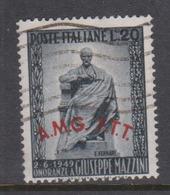 Trieste Allied Military Government S 47 1949 Inauguration Giuseppe Mazzini Moniment,used - 7. Trieste