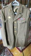 WW2 Staff Sergeant AAF Tunic Named - 1939-45