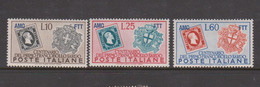 Trieste Allied Military Government S 130-132 1951 Centenary Of Sardinia First Stamp,mint - 7. Trieste