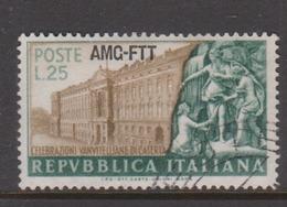 Trieste Allied Military Government S 141 1952 Luigi Vanvitelli,used, - 7. Trieste