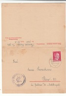 Germany / Concentration Camps Stationery / Dranienburg - Ohne Zuordnung