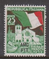 Trieste Allied Military Government S152 1952 4th Trieste Fair,mint - 7. Trieste