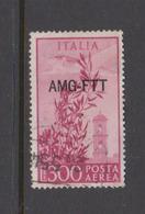 Trieste Allied Military Government PA 24  1949-52 Serie Democratica,300 Lire Rose,used - 7. Trieste
