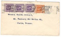 21766 - De COLOMBO Pour La France - Ceylan (...-1947)