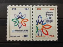 Syria 2018 MNH Stamp Set Damascus International Fair - Syria