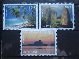 VEND BEAUX TIMBRES DE POLYNESIE N° 957 - 959 , XX !!! - Polynésie Française