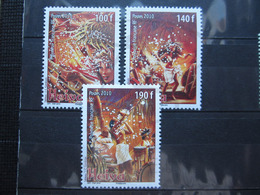 VEND BEAUX TIMBRES DE POLYNESIE N° 909 - 911 , XX !!! - Polynésie Française