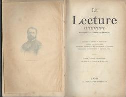 La Lecture Magazine Littéraire  De  1895.n: 23 - Bücher, Zeitschriften, Comics