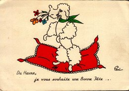 76-DU HAVRE JE VOUS SOUHAITE UN BONNE FETE...CPM - Le Havre