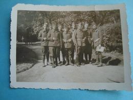 77 - Fontainebleau - Photo 6cm X 9cm - Militaires Sur Le Départ De La Caserne Saint Mard En 1940 - Fontainebleau