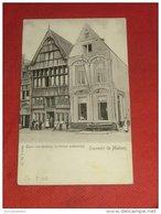 MECHELEN  - MALINES -    Quai Aux Avoines  (maisons Anciennes) -  1903 - Mechelen