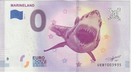Billet Touristique 0 Euro Souvenir France 06 Marineland 2019-4 N°UEBT003935 - Privéproeven