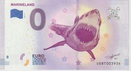 Billet Touristique 0 Euro Souvenir France 06 Marineland 2019-4 N°UEBT003936 - Essais Privés / Non-officiels